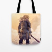 fili Tote Bags featuring Fili by MaliceZ