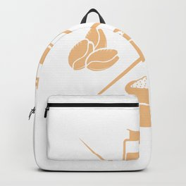 Coffee Life Milk Morning Help Funny Gift Backpack