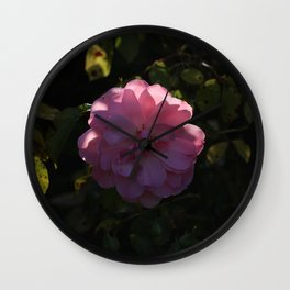 Pink Champagne Wall Clock
