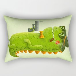Dino bandito Rectangular Pillow