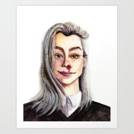 Phoebe Bridgers Art Print