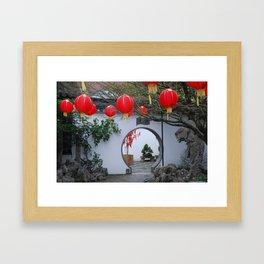 Lan Su Chinese Garden Framed Art Print