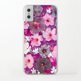 Hibiskiss Day Dreamer Clear iPhone Case