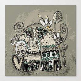 love king! Canvas Print