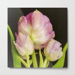 Angelique Tulips Metal Print