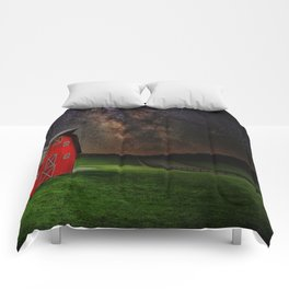 Midnight Farm  Comforters