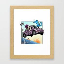 Spook Buggy - Margo and Gaba Framed Art Print