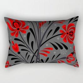 Abstract floral ornament Rectangular Pillow