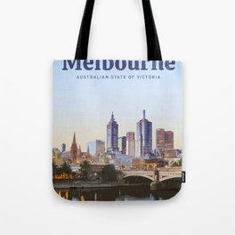 Visit Melbourne  Tote Bag