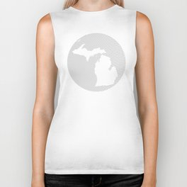 The GREAT LAKES of NORTH AMERICA Biker Tank