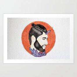 Reprogram  Art Print