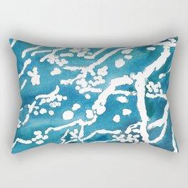 spring flowering  tree Rectangular Pillow
