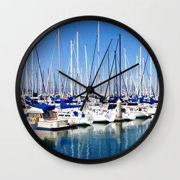 Marina Forest Wall Clock