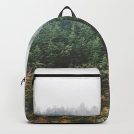 Foggy Vancouver Island Backpack