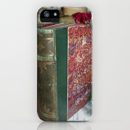 For the love of old books iPhone Case