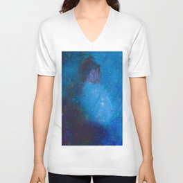 Lady Galaxy Unisex V-Neck