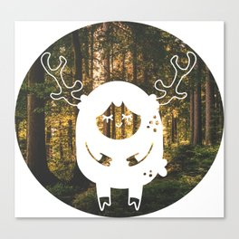 lil deer Canvas Print