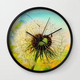 Dandelion 5 Wall Clock