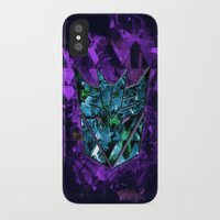 transformers iPhone & iPod Cases featuring Decepticons Abstractness - Transformers by DesignLawrence