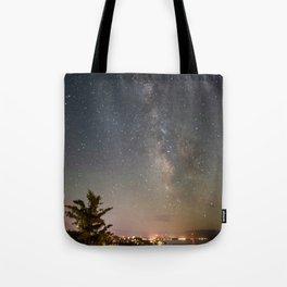 South Lake Tahoe Milky Way Tote Bag