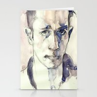 kerouac Stationery Cards featuring Jack Kerouac by Germania Marquez