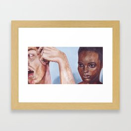Fictional Still #7 Framed Art Print
