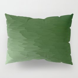 Green Ombre Pillow Sham