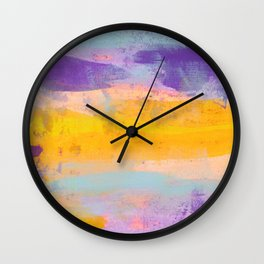 Abstract No. 492 Wall Clock