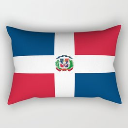 Flag of the dominican republic Rectangular Pillow