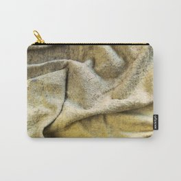 Worn Old Duster Cloth Close Up Carry-All Pouch