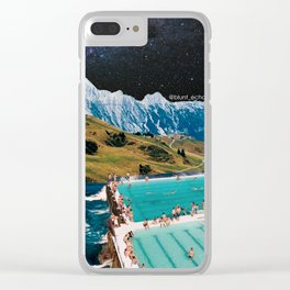 Space oddity 2.0 Clear iPhone Case
