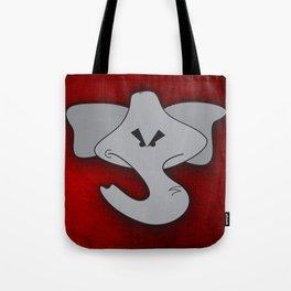 Enraged Elephant Tote Bag