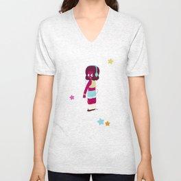 Gem 'Leggy' Fashion Unisex V-Neck