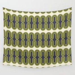 Radiator in Olive and Purple Wall Tapestry