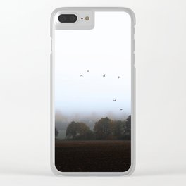 MISTY OCTOBER DAY-VIa Clear iPhone Case