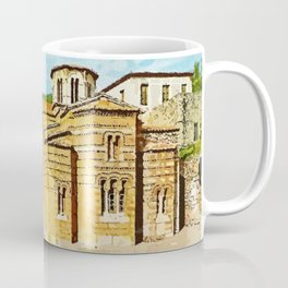 Hosios Loukas monastery Distomo Greece Coffee Mug