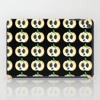 lantern iPad Cases featuring Skull Lantern by KristenOKeefeArt