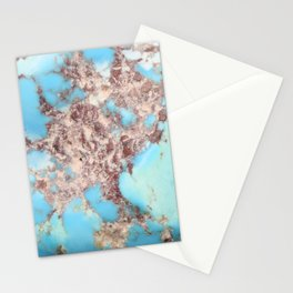 Turquoise Nugget Stationery Cards