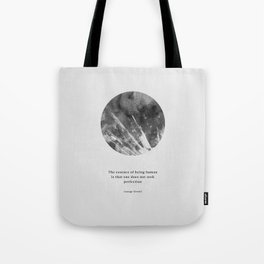 Minimalist Circle Orwell Tote Bag