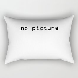 No picture Rectangular Pillow