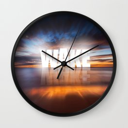WAKE+MAKE Wall Clock