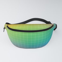 Rainbow Graph Fanny Pack