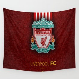Fc Liverpool My Favorite Sport Team Wall Tapestry