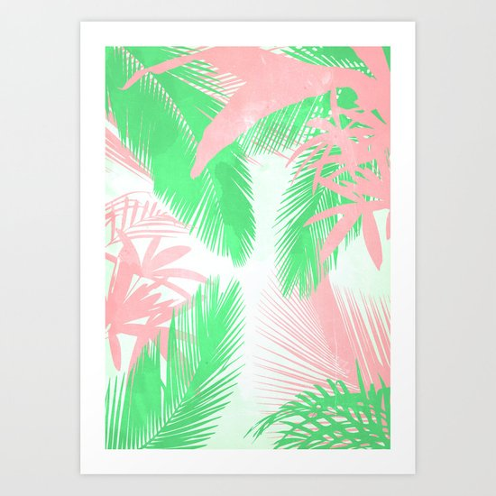Tropical N Art Print