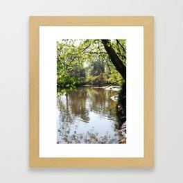 Creek, Philipsburg Manor, Sleepy Hollow NY Framed Art Print