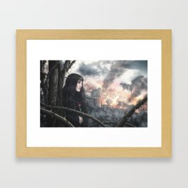 Exodus III: Resignation Framed Art Print