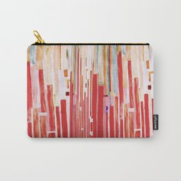 WATERCOLOR STRIPES Carry-All Pouch