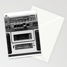 cassette recorder / audio player - 80s radio Stationery Cards