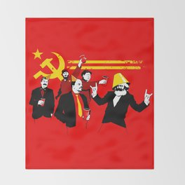 The Communist Party (original) Throw Blanket