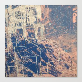 Layered Dimensions Canvas Print